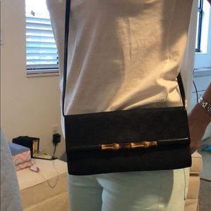 Vintage gucci clutch, cross body or shoulder bag